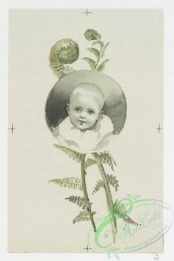 prang_cards_kids-00344 - 0698-Easter cards depicting flowers and portraits of young children 107336