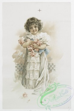 prang_cards_kids-00356 - 1080-Valentines, Christmas and Easter cards depicting women with various hair color (blonde, red and brunette,) children and flowers 100313