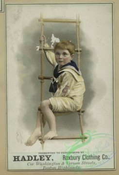 prang_cards_kids-00432 - 1619-Trade cards depicting flowers, sailor boys, a curtain and a basket of eggs 102624