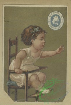 prang_cards_kids-00439 - 1646-Trade cards depicting jockeys, horses, soldiers, a duchess, a wedding, a horse race, running, crying, flowers personified and children in high chairs 102811