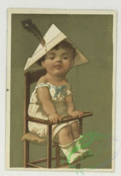 prang_cards_kids-00464 - 1732-Trade cards depicting children in high chairs 103368