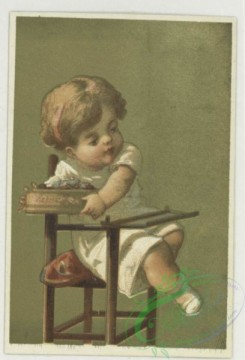 prang_cards_kids-00465 - 1732-Trade cards depicting children in high chairs 103369