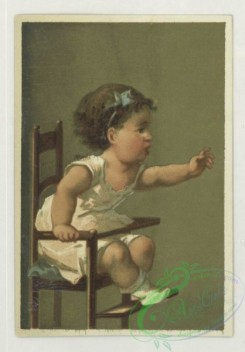 prang_cards_kids-00466 - 1732-Trade cards depicting children in high chairs 103370