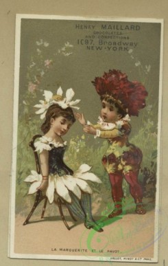 prang_cards_kids-00488 - 1795-Trade cards depicting flowers personified, a violinist, children, a pillow, toys, a toy dog, spectacles and a letter 103738