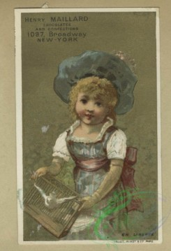 prang_cards_kids-00514 - 1805-Trade cards depicting baby Jupiter sitting on his planet, the Japanese flag, a dove and children playing outdoors 103824