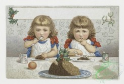 prang_cards_kids-00534 - 0016-Christmas, New Year, and Valentine cards depicting children playing, eating 103202