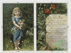 prang_cards_kids-00545 - 0113-Valentines with young girls, flowers, and dogs 100508