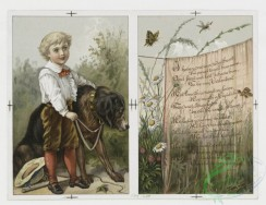 prang_cards_kids-00546 - 0113-Valentines with young girls, flowers, and dogs 100509