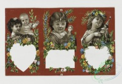 prang_cards_kids-00555 - 0310-Cards with depictions of children and decorative flowers 104890