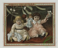 prang_cards_kids-00599 - 0546-Christmas and Easter cards depicting children with toys, and flowers 106555