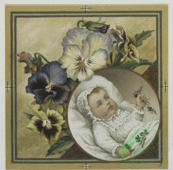 prang_cards_kids-00601 - 0550-Christmas and Easter cards depicting scenes on a riverbank, babies, angels, and flowers 106597