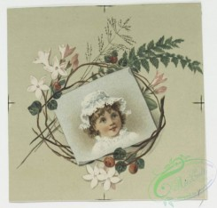 prang_cards_kids-00619 - 0575-Christmas, Easter and New Year cards depicting flowers, foliage and portraits of children 106722