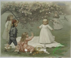 prang_cards_kids-00695 - 1249-The interrupted picnic 101002