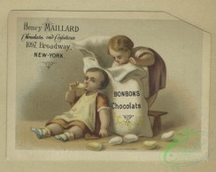 prang_cards_kids-00818 - 1630-Easter and trade cards depicting children, eggs, nests, candy, soldiers, dancing, courtship and public speaking 102706