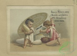 prang_cards_kids-00849 - 1797-Trade cards depicting a wedding, ice skating, child soldiers and figures eating and drinking candies and wine 103755