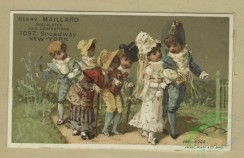 prang_cards_kids-00852 - 1797-Trade cards depicting a wedding, ice skating, child soldiers and figures eating and drinking candies and wine 103758