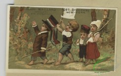 prang_cards_kids-00898 - 1805-Trade cards depicting baby Jupiter sitting on his planet, the Japanese flag, a dove and children playing outdoors 103829