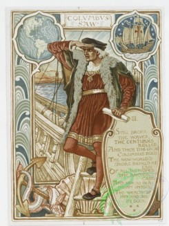prang_cards_people-00018 - 1117-Columbian courtship-cards entitled 'Columbus saw' and 'Spain conquered.' 100417
