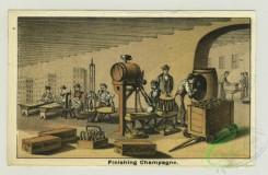 prang_cards_people-00045 - 1312-Trade cards for a winery entitled-Works and vaults, Wine presses, Finishing champagne 101183