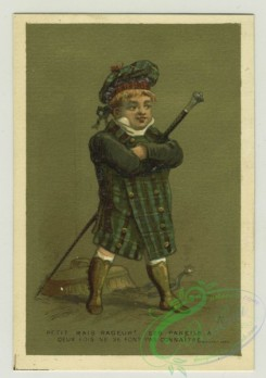 prang_cards_people-00066 - 1379-Trade cards depicting boys performing various jobs-cook, server and foot servant 108617