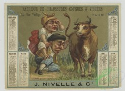 prang_cards_people-00084 - 1466-Trade cards and calendars depicting men, women, a cow and pig 101950