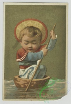 prang_cards_people-00092 - 1469-Trade cards depicting children dressed as a-maid, gentleman, chef and sailor 101962