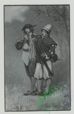 prang_cards_people-00093 - 1479-(A trade card depicting two musicians playing outdoors.) 101996