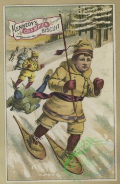 prang_cards_people-00122 - 1620-Trade cards depicting landscapes, children, people, moon, star, snowshoeing, correspondence and buckets 102634