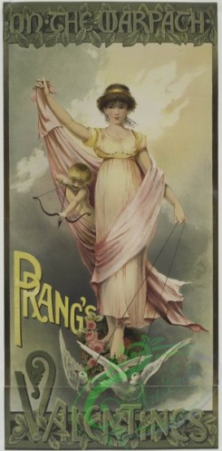 prang_cards_women-00015 - 0483-Prang's Valentines-On the Warpath 106136