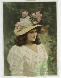 prang_cards_women-00038 - 1111-Prints entitled 'winter girl' and 'summer girl.' 100406