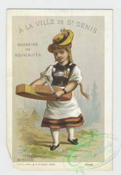 prang_cards_women-00090 - 1565-Trade cards depicting a Laplander, a Russian woman, a Swiss woman and a man serving ice cream 102393