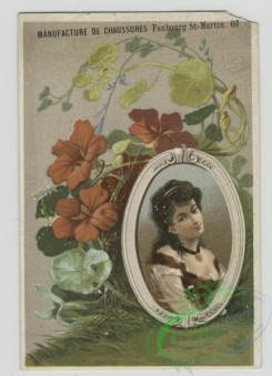 prang_cards_women-00092 - 1566-Trade cards depicting flowers, plants and framed portraits of women 102396