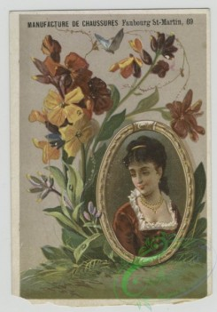 prang_cards_women-00094 - 1566-Trade cards depicting flowers, plants and framed portraits of women 102398