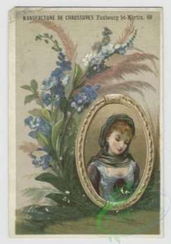 prang_cards_women-00095 - 1567-Trade cards depicting flowers, plants and framed portraits of women 102399