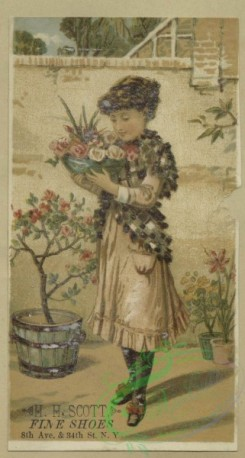 prang_cards_women-00127 - 1681-Cards depicting courtship, flowers, a girl eating honey and a scenic view of a river and palaces 103040