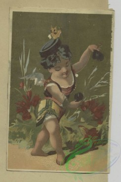 prang_cards_women-00128 - 1684-Cards depicting figures-dancing, ice skating, wearing a muff, carrying flowers and a fan 103056