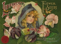 seeds_catalogs-06017 - 101-Girl, Sweet Peas [2109x1522]