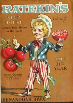 seeds_catalogs-06501 - 072-Man in USA Flag clothes, patriotic, Uncle Sam, holding Tomatoes [2560x3608]