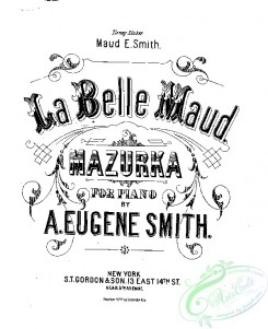sheet_music_covers-02094 - Belle Maud mazurka, La_ct1877.13050
