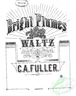 sheet_music_covers-02885 - Bright plumes, Waltz_ct1885.07515