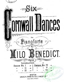 sheet_music_covers-04548 - Dance no. IV (from) Six Cornwall dances_ct1885.08305