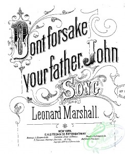 sheet_music_covers-05145 - Dont forsake your father, John_ct1885.22949