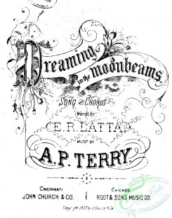 sheet_music_covers-05371 - Dreaming in the moonbeams_ct1877.10511