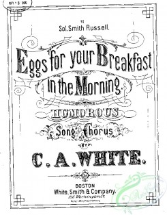 sheet_music_covers-05597 - Eggs for your breakfast in the morning_ct1881.01993