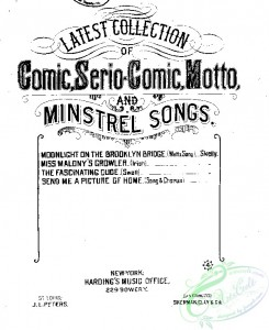 sheet_music_covers-06420 - Fascinating dude, The, Serio comic swell song_ct1883.11540