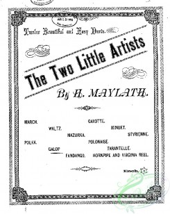 sheet_music_covers-07211 - Galop (from) Two little artists_ct1883.24513