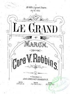 sheet_music_covers-08117 - Grand march, Le_ct1874.13706