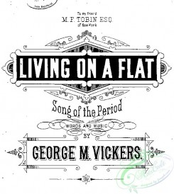 sheet_music_covers-11394 - Living on a flat_ct1883.23956