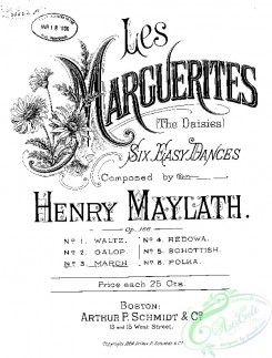sheet_music_covers-11846 - March from Les Marguerites_ct1884.23624