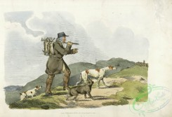 sporting-00006 - 008-A hunter with rabbits